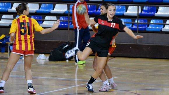 L'Handbol Sant Cugat femení guanya davant el Juventut Handbol la Llagosta