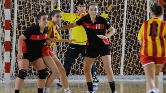 L'Handbol Sant Cugat es manté a la part mitja de la classificació / Font: Handbol Sant Cugat