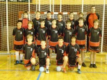 L'infantil A de l'Handbol Sant Cugat participa en el torneig 'Llet Nostra' del FC Barcelona