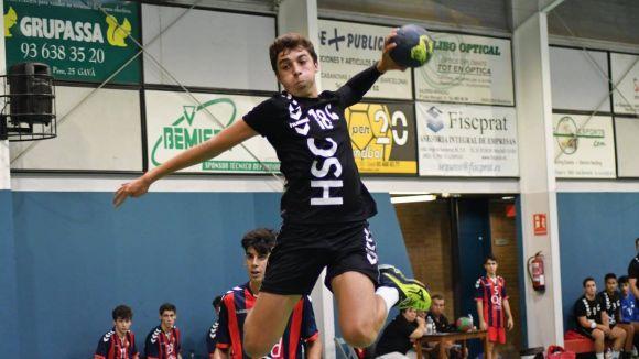 El juvenil de l'Handbol Sant Cugat té un test de prestigi aquest cap de setmana / Font: HSC
