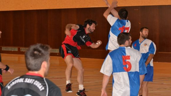 L'Handbol Sant Cugat intimida en la seva estrena a la pista del Sabadell