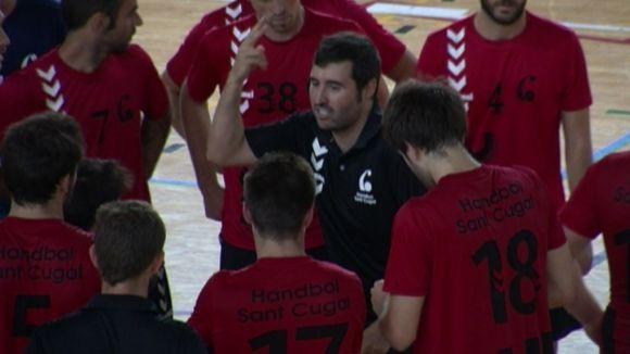 L'Handbol Sant Cugat mostra ofici per superar el Sant Joan Despí en l'estrena del curs
