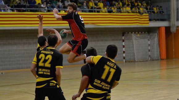 L'Handbol Sant Cugat suma la sisena victòria consecutiva a costa del Joventut Handbol Mataró
