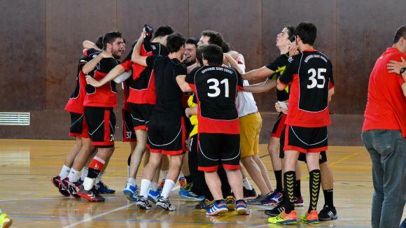 El Sènior B obté un ascens històric a Lliga Catalana amb una victòria davant el Terrassa
