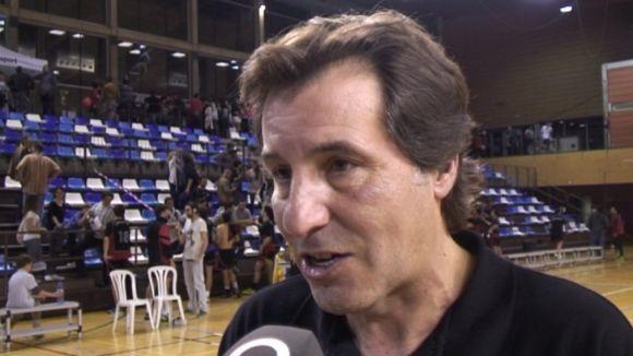 Joan Sancho no continuarà com a entrenador del primer equip de l'Handbol Sant Cugat