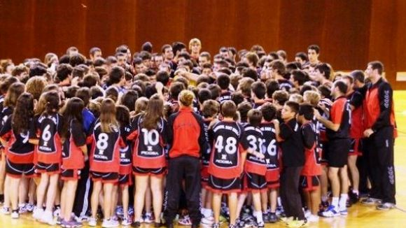 L'Handbol Sant Cugat presenta els equips aquest divendres