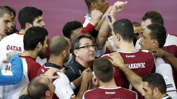 Les entrades de l'Handbol Sant Cugat-Qatar, ja a disposició de socis i jugadors al pav 2
