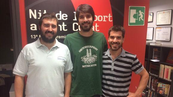 López (Handbol Sant Cugat) : 'La força d'aquest equip rau en el treball col·lectiu'
