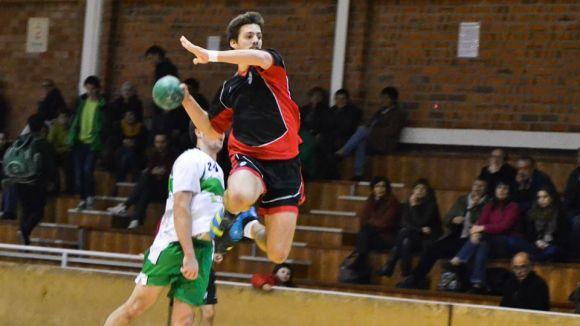L'Handbol Sant Cugat més en forma de la temporada torna a guanyar