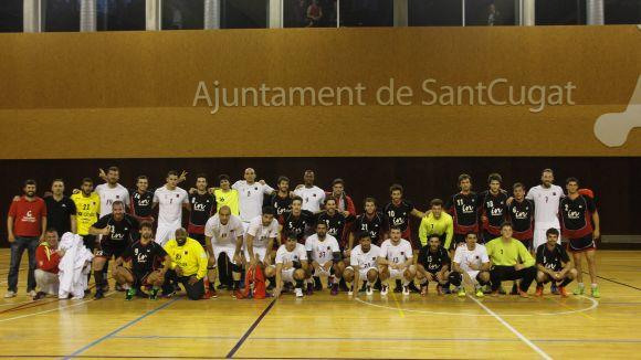 L'Handbol Sant Cugat planta cara a la selecció del Qatar, subcampiona mundial
