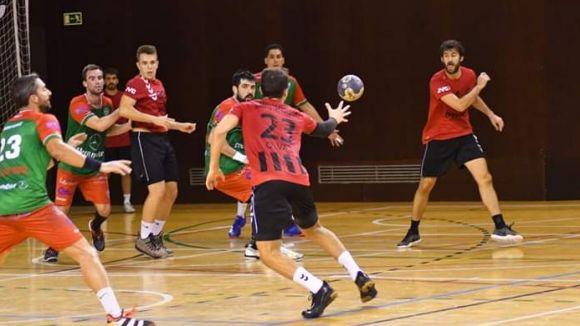 L'Handbol Sant Quirze atropella un tendre Handbol Sant Cugat