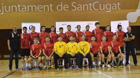 Plantilla de l'Handbol Sant Cugat B d'aquesta temporada / Font: Handbol Sant Cugat