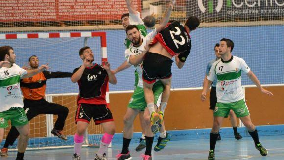 L'Handbol Sant Cugat perd a la pista dels Maristas de Saragossa