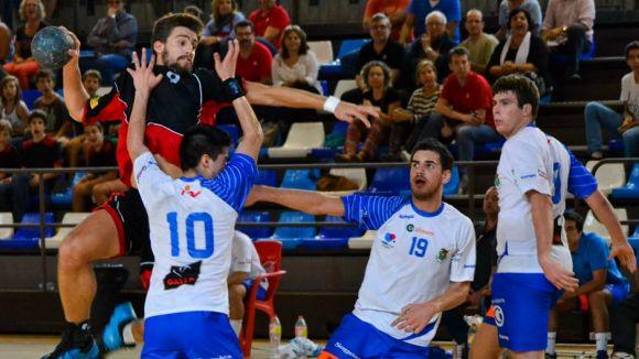 L'Handbol Sant Cugat suma un punt a la Copa a la pista del Sarrià i ja prepara la fase d'ascens
