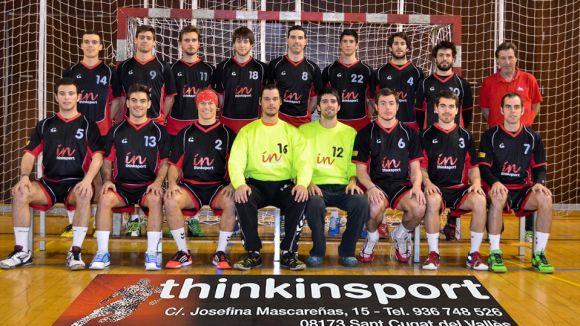 Acord entre l'Handbol Sant Cugat i una nova botiga esportiva a Sant Cugat