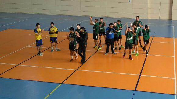L'Handbol Valldoreix supera el líder, l'Igualada, en un gran partit dels verd-i-negres