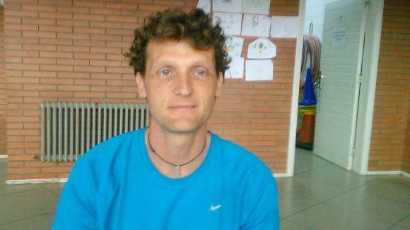 Xavier Vilella, nou entrenador de l'Handbol Sant Cugat / Font: Cedida