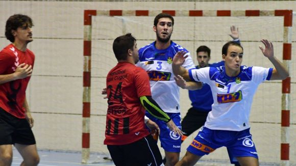 L'Handbol Sant Cugat s'ha vist superat per un potent BM Granollers B / Font: Handbol Sant Cugat