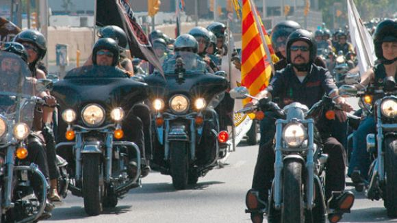 La 'Barcelona Harley Days' fa parada a Sant Cugat