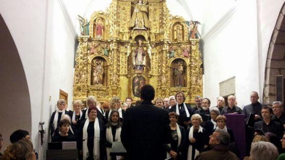 La coral l'Harmonia de Valldoreix acomiada l'any amb nous reptes musicals