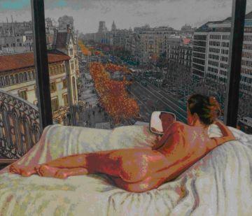 El pintor santcugatenc Alejandro Häsler porta la seva darrera col·lecció a la Galeria de Barcelona