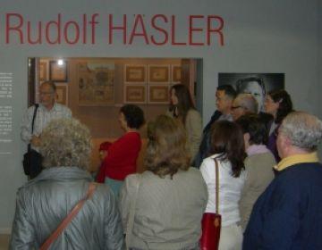 La Casa Aymat tanca el primer mes d'homenatge a Häsler amb gairebé 500 visitants