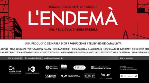 Ja estan disponibles les invitacions per a 'L'endemà' d'Isona Passola
