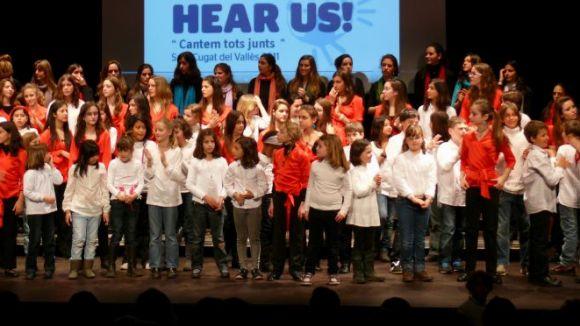 Petits Músics del Món treballa per portar a la ciutat el cor Hear Us Children's