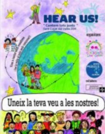 Corals infantils de Sant Cugat es preparen per a un concert virtual que donarà la volta al món amb cançons