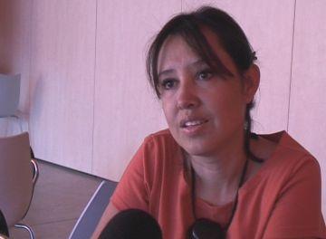 Helga Flamtermesky presenta la tesi 'Dones professionals que migren'