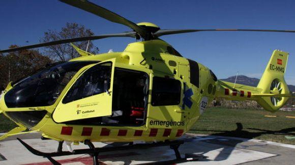 Els helicòpters del SEM deixaran d'operar des de l'HGC a partir de febrer