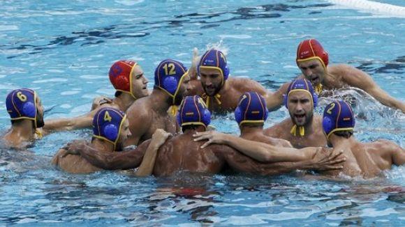 La selecció espanyola de waterpolo masculí bat Romania i es classifica per al Mundial