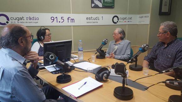 D'esquerra a dreta Jaume Espina, Maria Coll i Gabino Jané