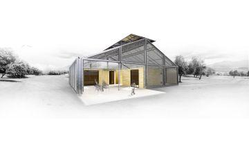 Estudiants de l'ETSAV projecten una casa de baix cost