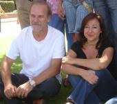 Homar i Machi, a la presentació del rodatge
