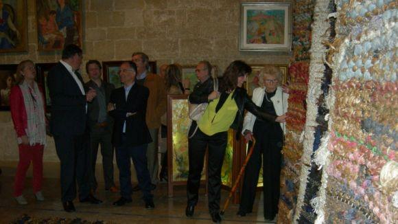 Sant Cugat estrena el seu homenatge a l'artista Mercè Diogène