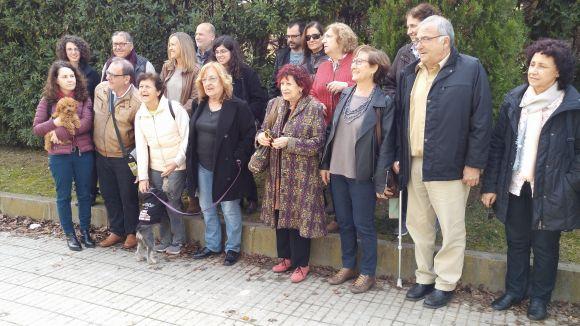 Marta Pessarrodona i Pilar Aymerich recorden Montserrat Roig davant una vintena de persones