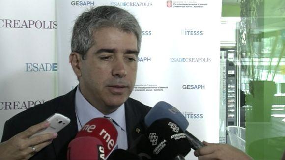 Homs descarta l'entrada d'altres partits al govern
