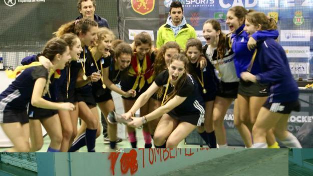 El Junior es penja un or i un bronze en el Campionat d'Espanya cadet d'hoquei sala