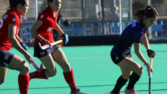 Carlota Petchamé, a la dreta / Font: Enrico Hockey