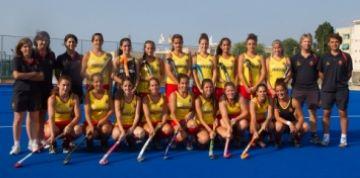 El Junior aporta quatre jugadors a la selecció espanyola masculina i dues a la femenina per a la preparació de l'Europeu sub21 d'hoquei herba