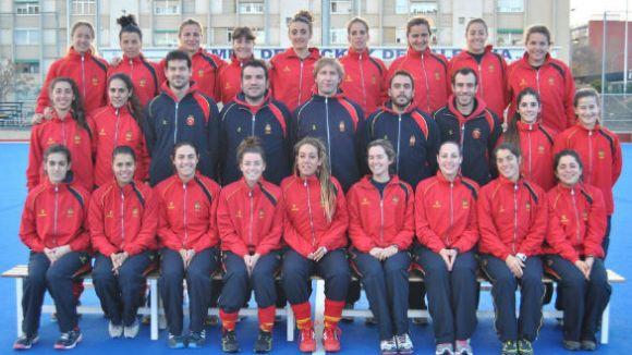 Espanya segueix treballant per ser al Mundial / Font: Hockeydh.com