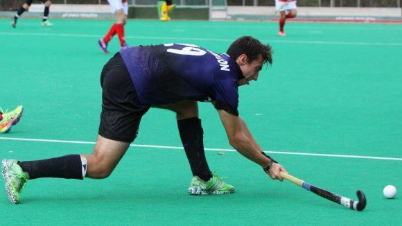 Marc Perellón, jugador del Junior / Font: Enrico Hockey