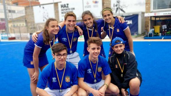 Catalunya sub 16 masculina i femenina, amb 7 integrants del Junior, guanya l'Estatal d'hoquei herba