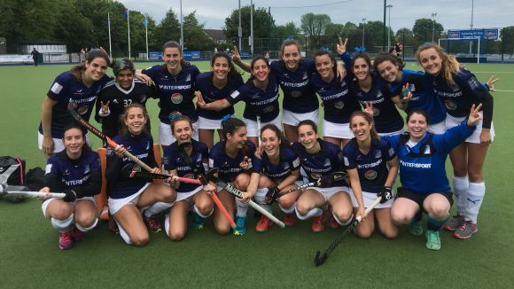 El Junior femení fa història i es classifica per a la final de l'Eurohockey Club Trophy