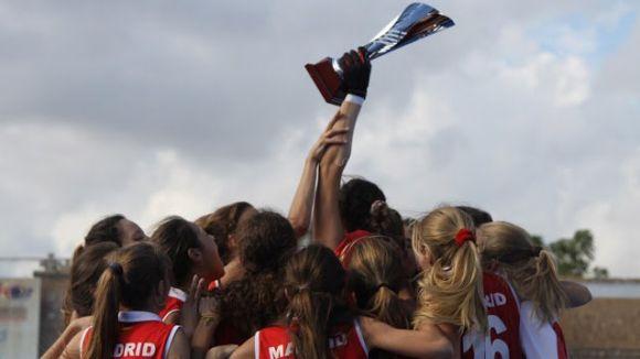 La selecció madrilenya sub 18 ha guanyat l'Estatal davant Catalunya / Font: Rfeh.es