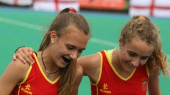 Mariona Serrahima amb la samarreta de la selecció espanyola