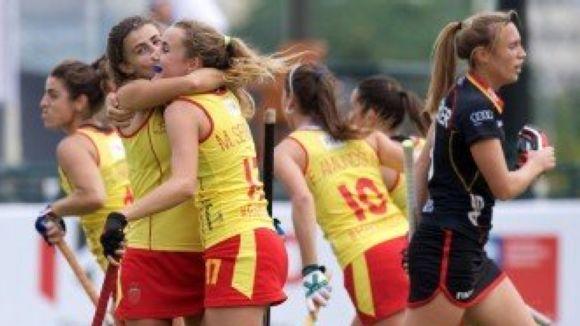 Mariona Serrahima fa un doblet en la primera victòria d'Espanya al Mundial d'hoquei herba sub 21