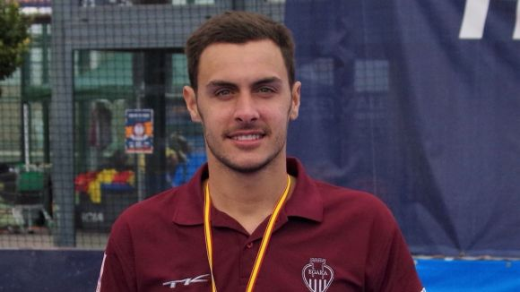 Nani Usé ha guanyat la Copa del Rei amb l'Egara / Font: Cedida