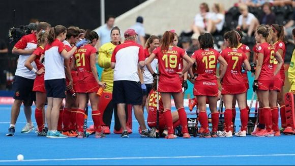 Espanya passa a vuitens de final del Mundial femení d'hoquei herba